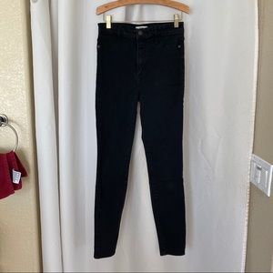 Abercrombie & Fitch High Rise Black Skinny Jeans